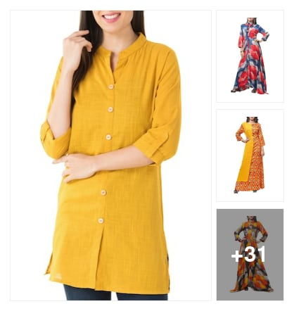 Kurtas. Online shopping look by laxmi