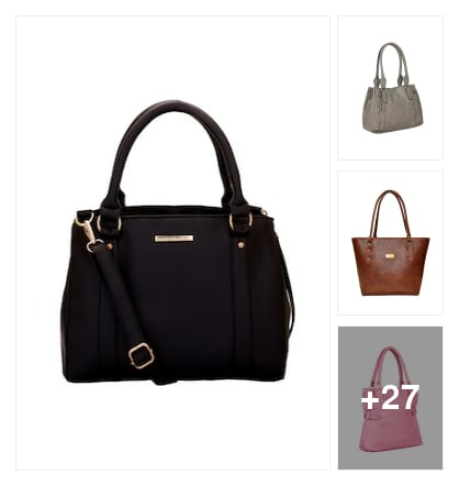 Handbags and purses for women. Online shopping look by kumar
