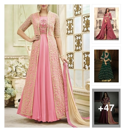 Stunning collection of suits. Online shopping look by Priya Choudhary