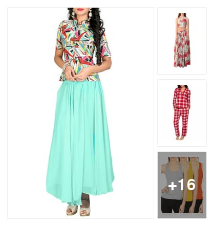 FRESH PRODUCTS FOR U. Online shopping look by saathvik