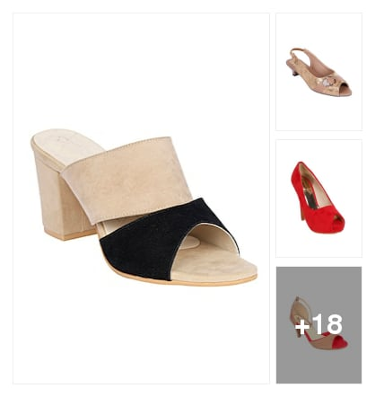 Fashionable sandals. Online shopping look by Kriti