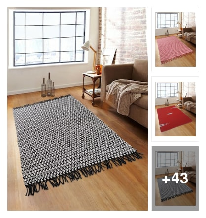 Carpets for part of the home decorations. Online shopping look by goda