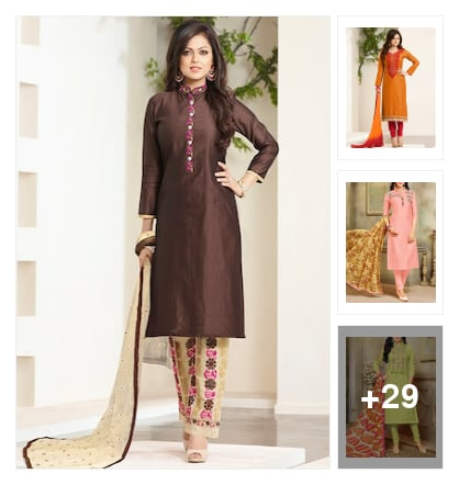 New chanderi cotton suits. Online shopping look by Priya Choudhary