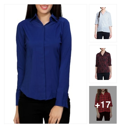 Shirts collection. Online shopping look by vanitha