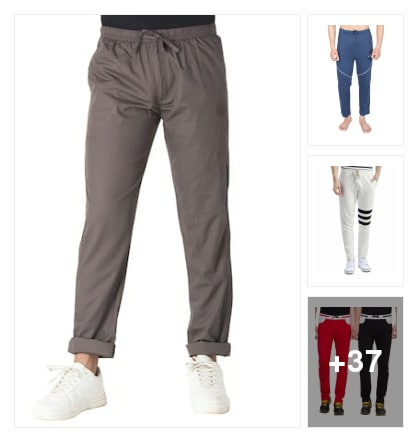 Track pants. Online shopping look by Aadya panth