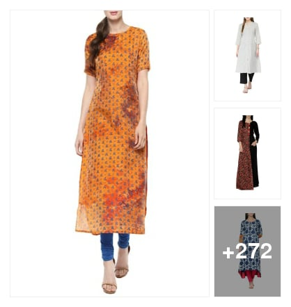 Beautiful kurtas and kurtis. Online shopping look by chinni