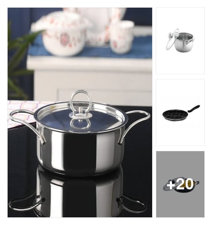 Cookware collection. Online shopping look by sudhi