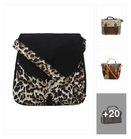 Satchel bag for women. Online shopping look by vikas