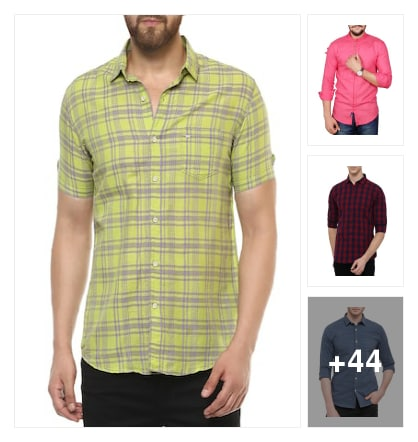 shirts for mens. Online shopping look by mahesh