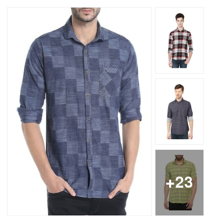 Shirts to style with . Online shopping look by vikram