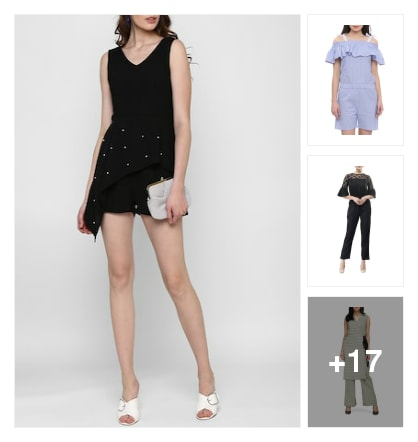 Stylish jumpsuits..... Online shopping look by jayeetri