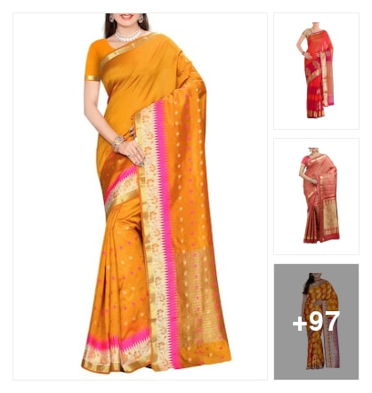 Saree's you will love . Online shopping look by Pinki