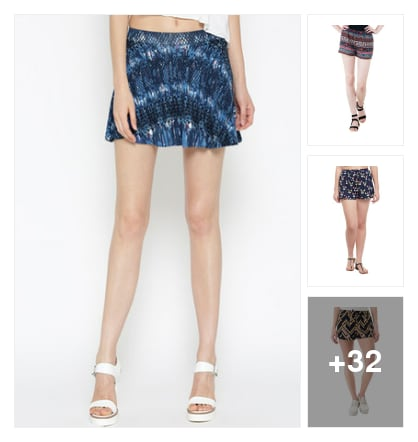 Shorts. Online shopping look by Harsha