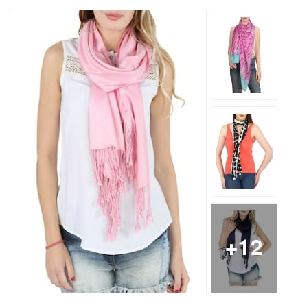Scarves. Online shopping look by Rekha