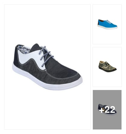 casual shoes. Online shopping look by sebby