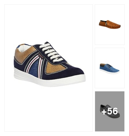 CASUAL SHOES FOR GENTS. Online shopping look by vidya