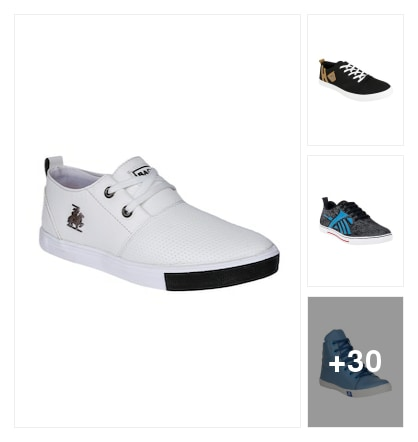 Casual shoes. Online shopping look by vikram