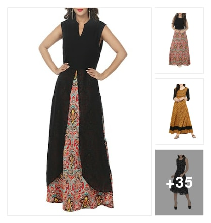dresses. Online shopping look by Govind