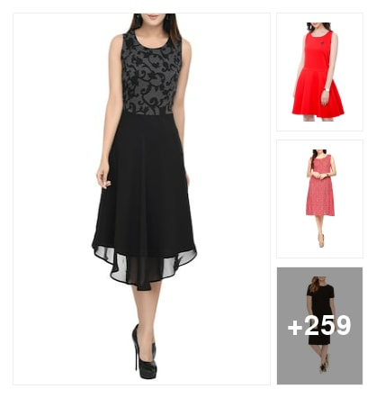 Something dpecisl dresses. Online shopping look by thanmayee