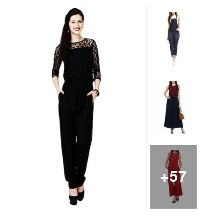 jumpsuits collectoin. Online shopping look by anitha