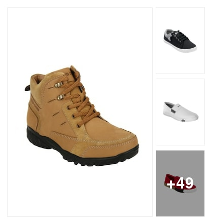 casualshoes for men. Online shopping look by chandra