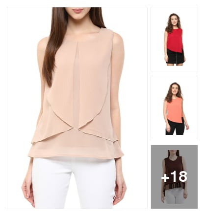 Everyday tops. Online shopping look by nandan