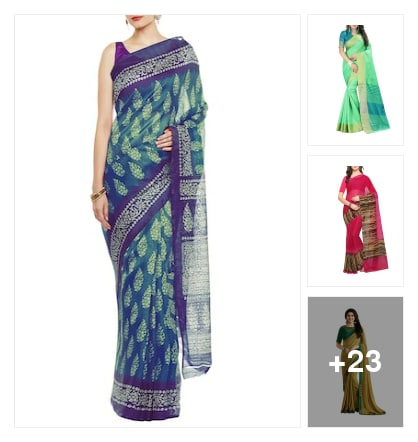 saress. Online shopping look by VENKAT