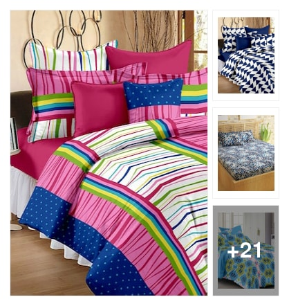 Bed sheets f r u. Online shopping look by nandan