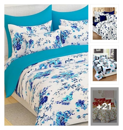 Double bedsheets. Online shopping look by nandan