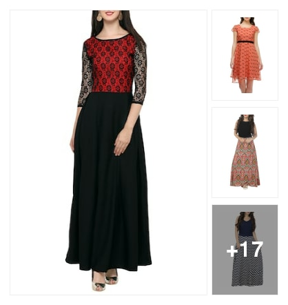 Dresses magic. Online shopping look by aarnavi