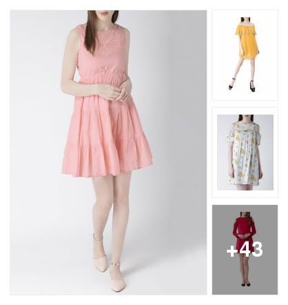 Trending mini dresses. Online shopping look by Priya Choudhary