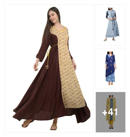 Layered Kurtas you will love. Online shopping look by Priya Choudhary