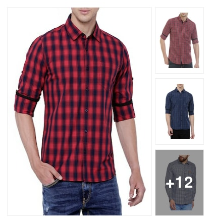 Shirts . Online shopping look by keerthi
