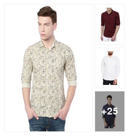 Shirts for men. Online shopping look by ramakrishna