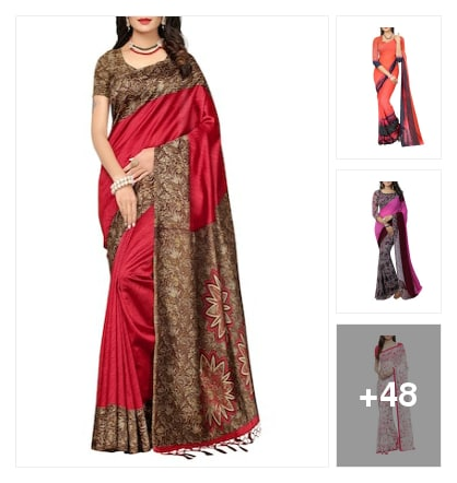Daily wear sarees. Online shopping look by srujana