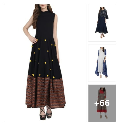 Kurtis, starting from  1000. Online shopping look by Manisha