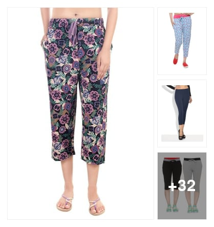 Capris and leggings. Online shopping look by Mitra