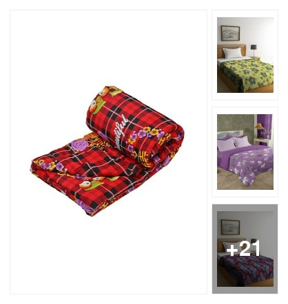 Reversible Double Comforter.. Online shopping look by Sakshi