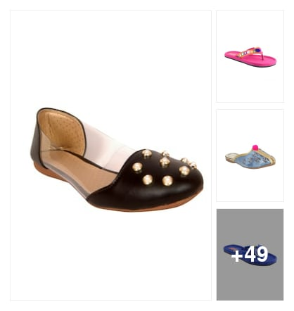 designer flats for wowen. Online shopping look by maga