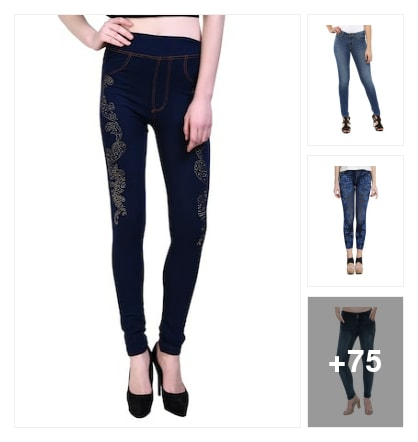 ripped jeans for youngsters. Online shopping look by jyothi