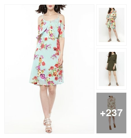 Floral for spring dresses. Online shopping look by santhi