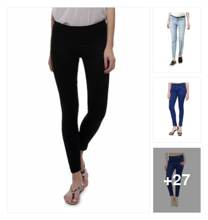 Jeans and jeggings. Online shopping look by KANTHA