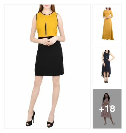 Dresses. Online shopping look by chandu