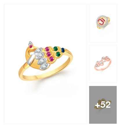 wedding anniversary special rings. Online shopping look by naidu