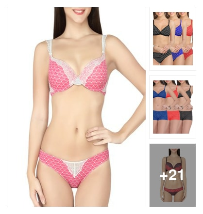 Modern Lingeries. Online shopping look by Dr.