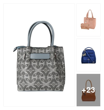 Regular wear handbags. Online shopping look by vikas