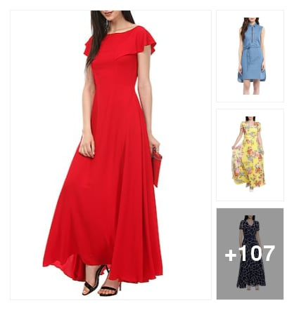 beautiful dresses. Online shopping look by Priyanka