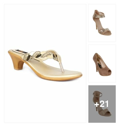 Footwear. Online shopping look by Teju