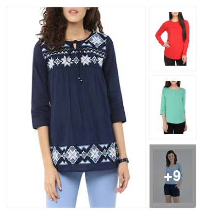 Lovely tops. Online shopping look by Kriti