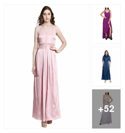 Gown dress. Online shopping look by Teju
